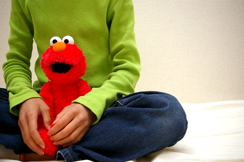 Elmo Loves Green