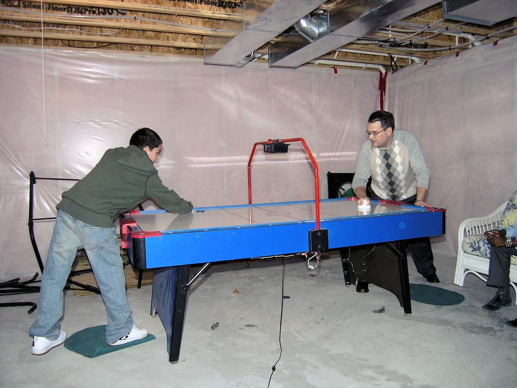 Air Hockey - Matt and David