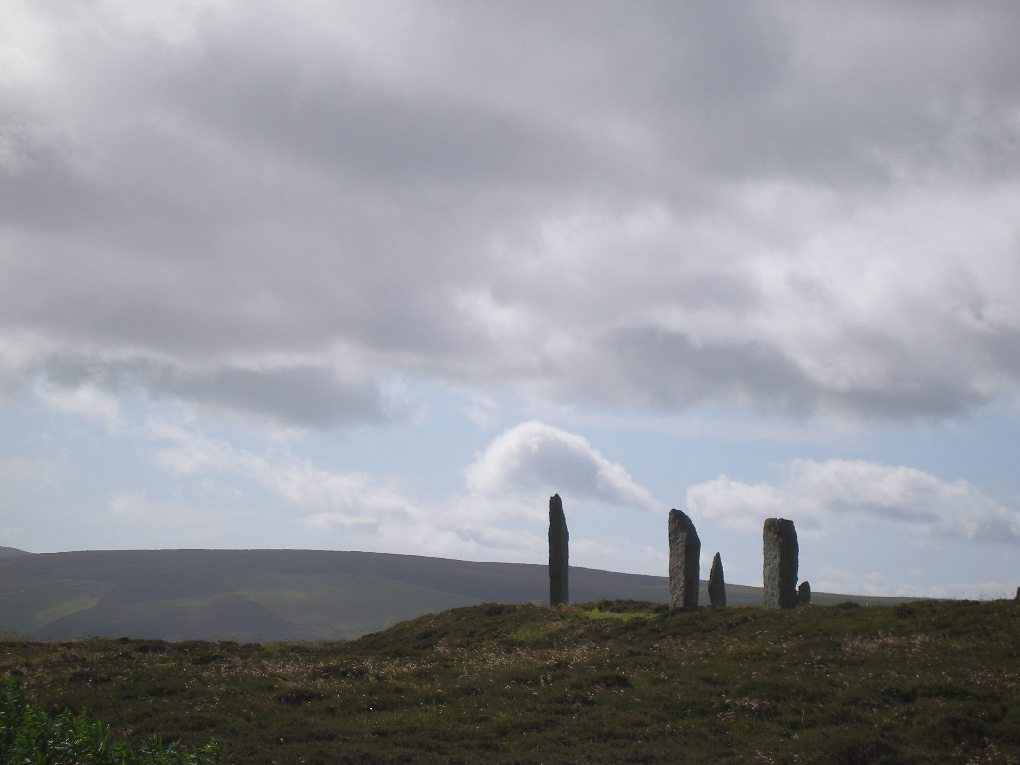 Stormy skies over Ring of Brodgar