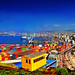 Valparaiso. Puerto from 21 de Mayo. Foto Antonio Ljubetic by Bracani....Antonio Ljubetic