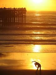 PB sunset exercise