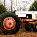 my dad's tractor by LuckyhahStar*