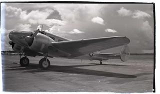 Beech C-45, Panama 1945