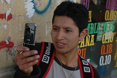 Ecuadorian mobile phone users
