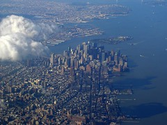 BL389 Aerial image of NYC