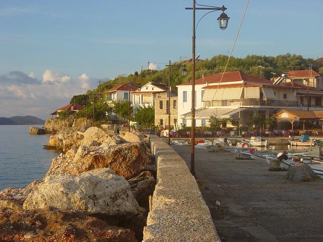 Kalamos dockside