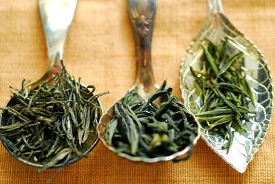China Green Tea leaves