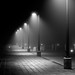 Lamp Posts In Fog by phlog