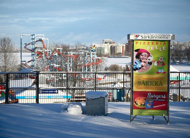 Parque de atracciones de Tampere, cerrado
