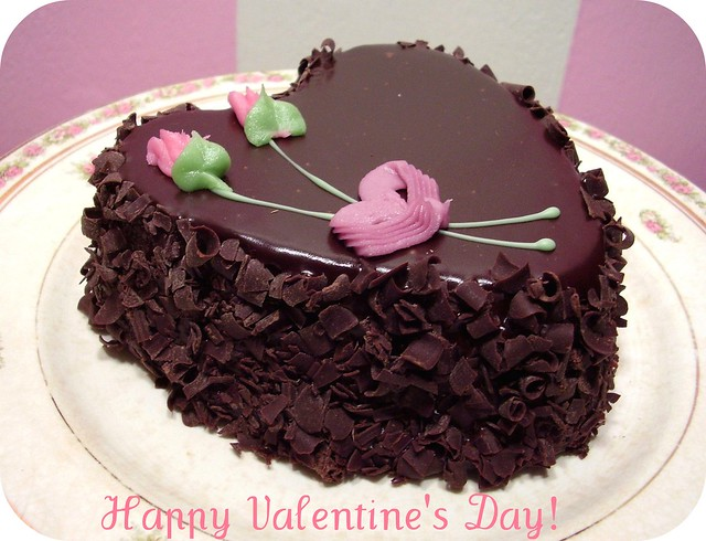 Valentine S Day Chocolate Cake Images : a Valentine s Day chocolate cake from Aaron! Flickr ...