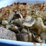 Geschnetzeltes unter der Kartoffelkruste
