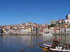 Porto, seen from Vila Nova de Gaia (other side of the Douro river)