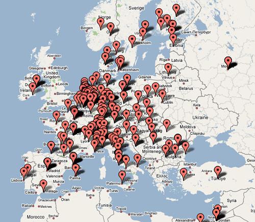 Google Gadget authors in Europe