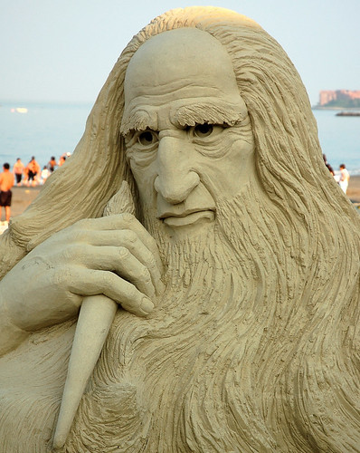 Sand Sculpture  -  Michael Angelo