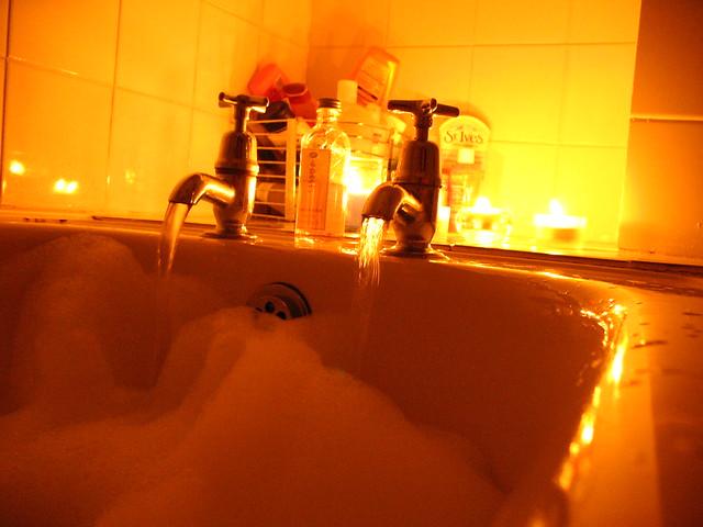 Romantic Bath Tonight I Ran A Romantic Lavender Bath For