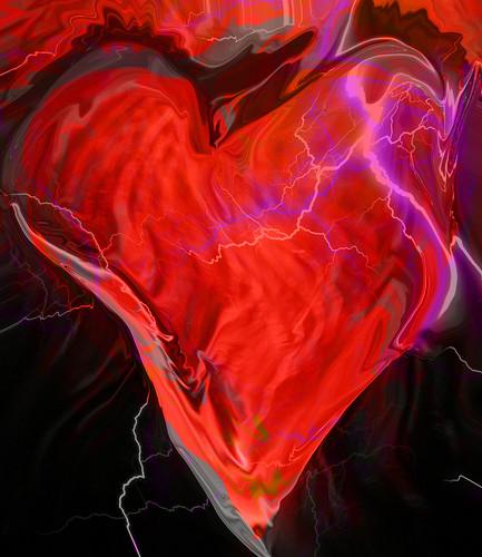 smashing heart