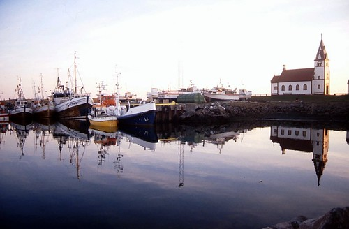 The harbour in Raufarhöfn