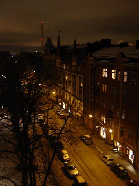 Helsinki, Finland 22:30 January