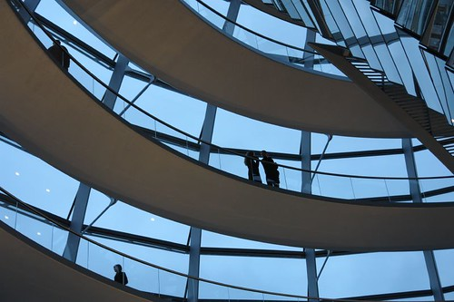 Berlin - Inside the Reichstag.