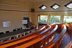 Lecture theatre, Schip van Blaauw Building, University of Wageningen, Netherlands, Jan. 2007