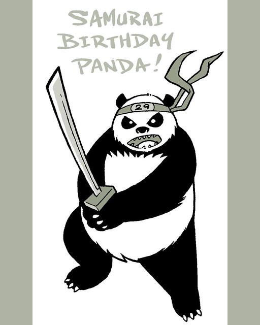Поздравление самураю с днем рождения