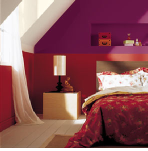 Cool Paint Ideas Red Bedrooms Bedroom Decorating Ideas