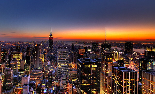 New York City Skyline Backdrop http://www.flickr.com/photos/zhulick/387606063/