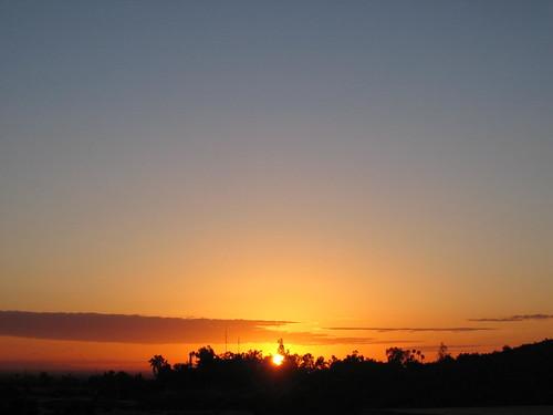 arizona mountain sunrise south