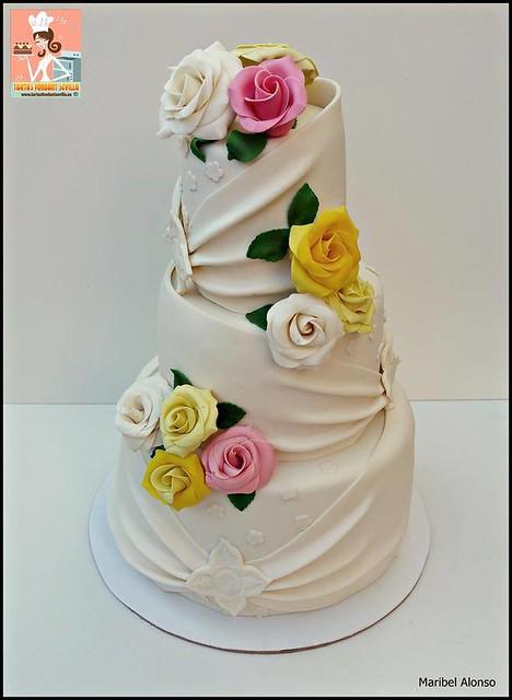 Cake by Tartas Fondant Sevilla