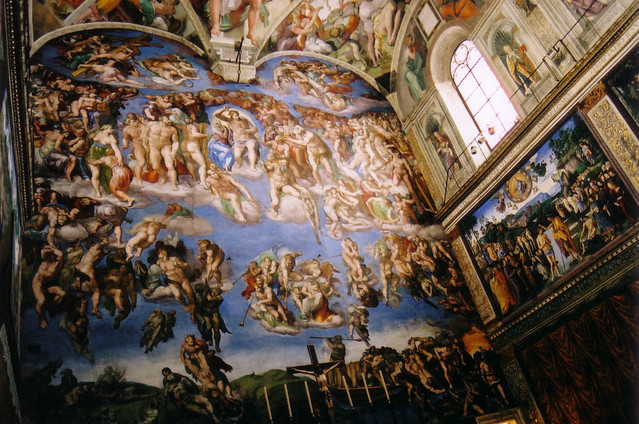 Sistine Chapel last judgment | Flickr - Photo Sharing!