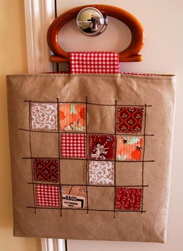 Square Patches Bag