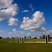 Bonfire Memorial Under Bright Texas Skies by StuSeeger