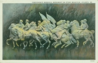 Stone Mountain GA Postcard