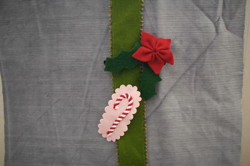 Christmas barrettes