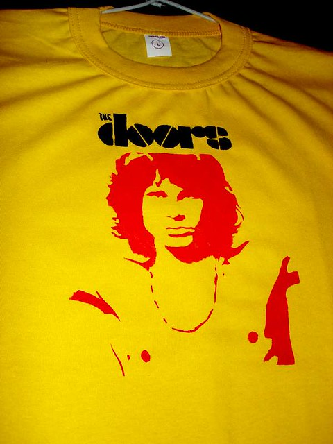 Remera The Doors  stencil The Doors Stencil