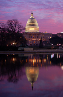 U.S. Capitol, Dawn (First Day of President Ford's Viewing)