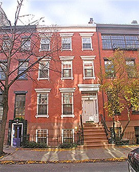 Greenwich village townhouse for washington place for West village townhouse for sale