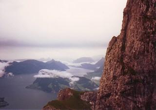 view from Mt. Pilatus