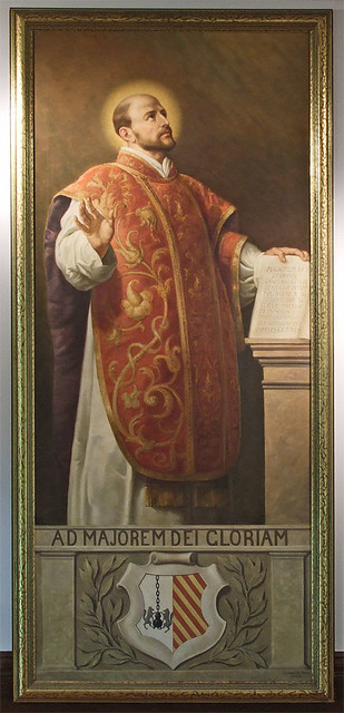 Saint Louis University Art Museum, in Saint Louis, Missouri - Collection of the Western Jesuit Missions - painting of Saint Ignatius Loyola.jpg
