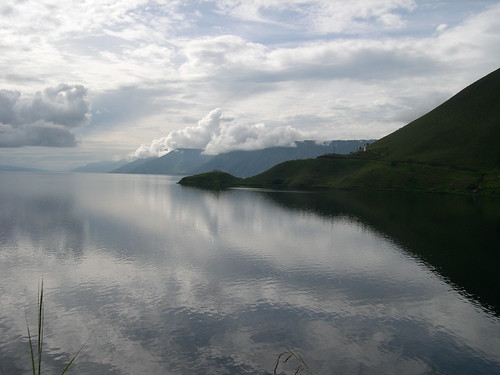 Lake Toba on Sumatra