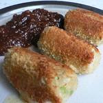Kräuter-Käse-Würstchen