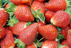 strawberry, frutti di bosco, produce, fruit, food,