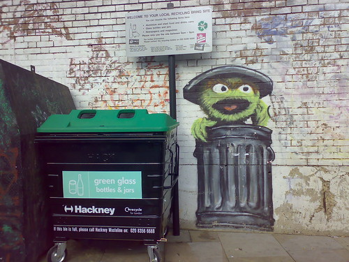 hackney council's newest recycling collector