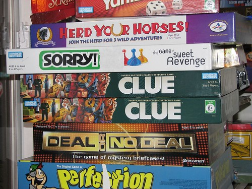 Pile of Board Games Board Games
