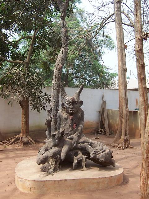 Legba carving, Abomey, Benin