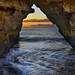 Dawn Through The Arch by Louis Dobson (formerly acampm1)