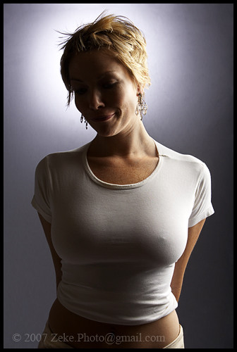 Angel In Tight T - Shirt