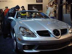 automobile, automotive exterior, wheel, vehicle, performance car, automotive design, mercedes-benz, auto show, mercedes-benz slk-class, bumper, land vehicle, luxury vehicle, convertible, supercar, sports car,