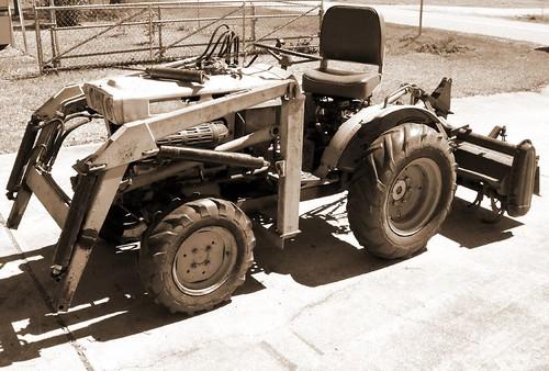 Hubby's tractor
