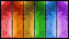 Textured Rainbow